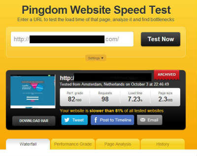 slow website load speed