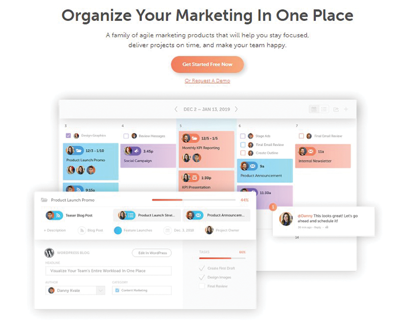 coschedule social media automation tool