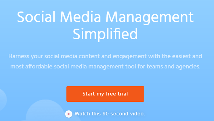 Agorapulse social media management tool