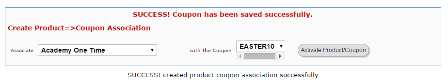digital access pass connecting coupon with product