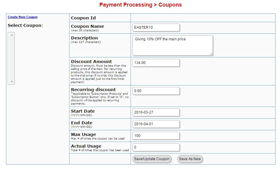 digital access pass coupons