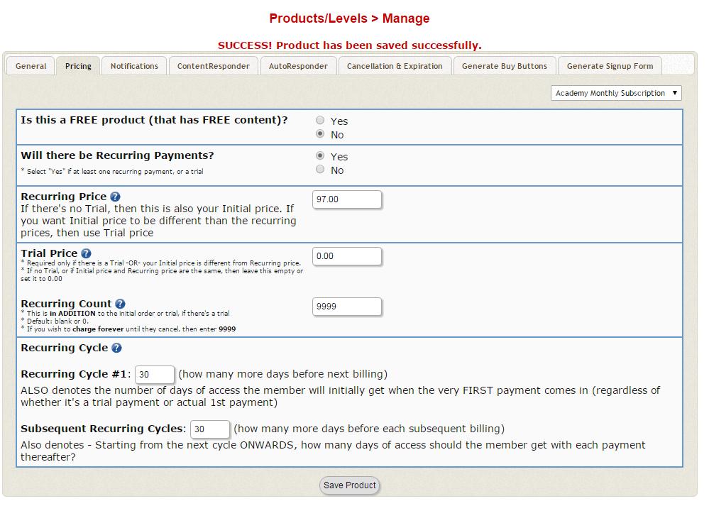 digital access pass pricing options