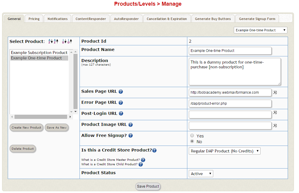 digital access pass product manage