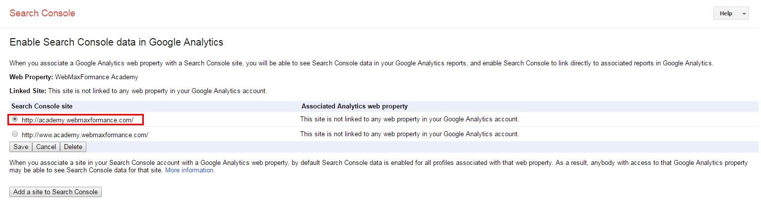 google analytics non www