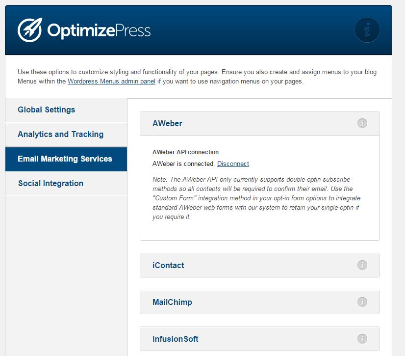 optimizepress email marketing services