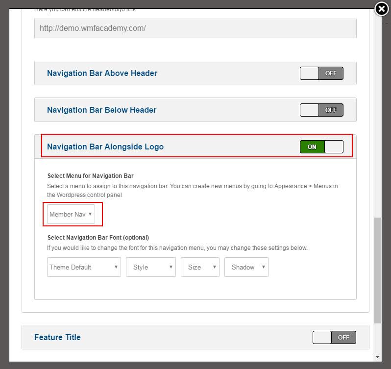 optimizepress-navigation-bar-alongside-logo