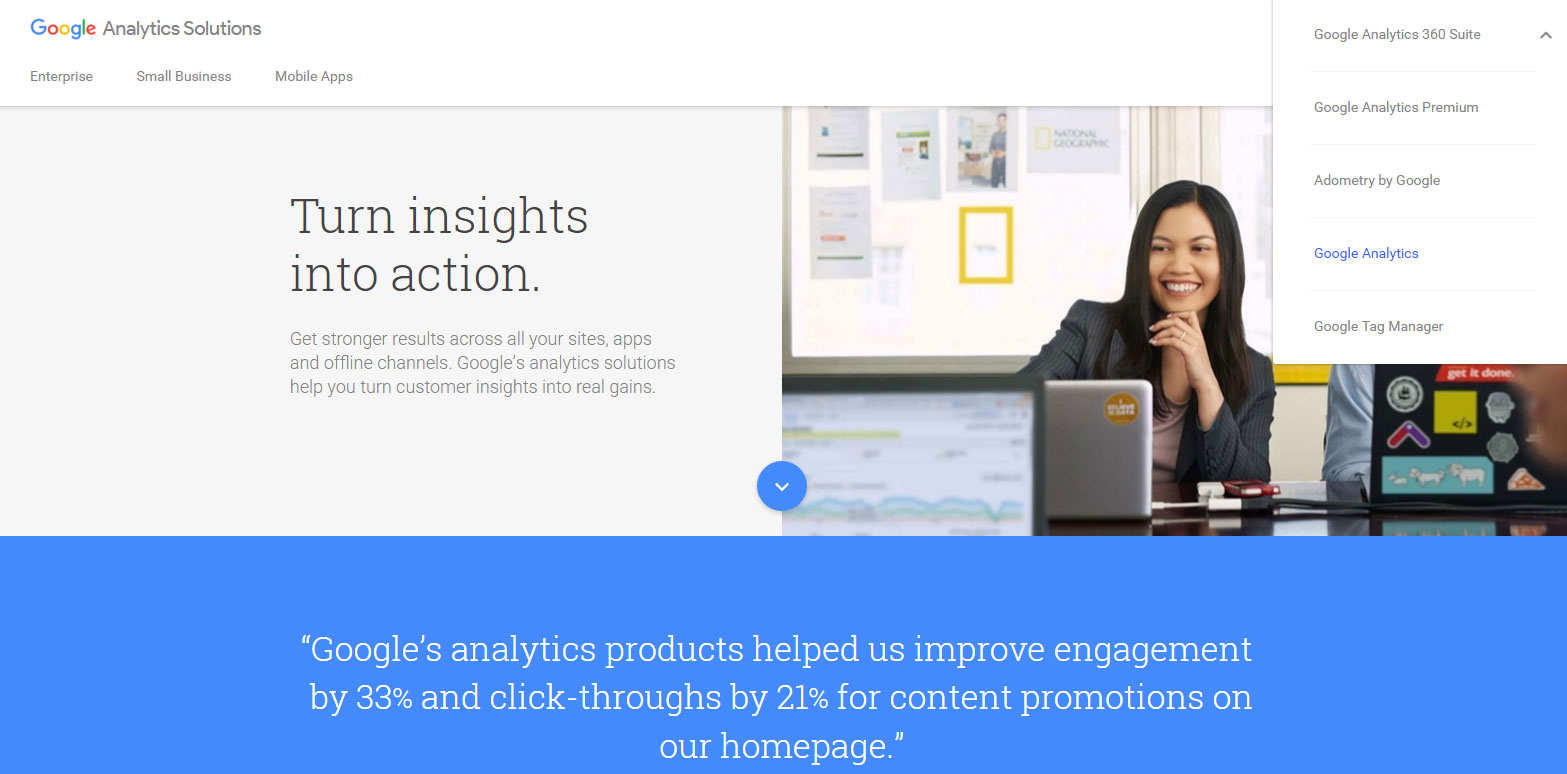 register google analytics account