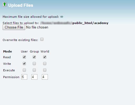 upload verificatrion file
