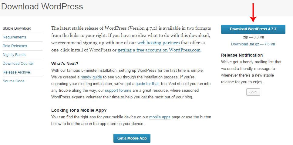 wordpress-download