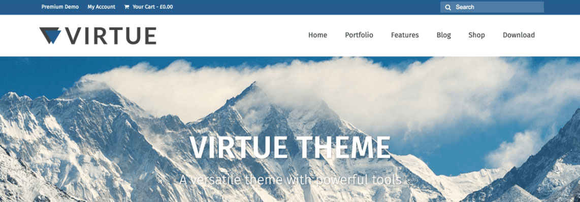 virtue wordpress theme