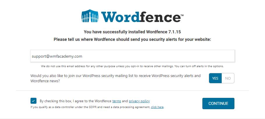 wordfence-alerts