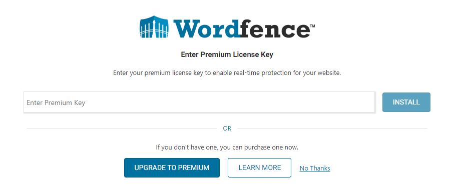 wordfence-no-thanks