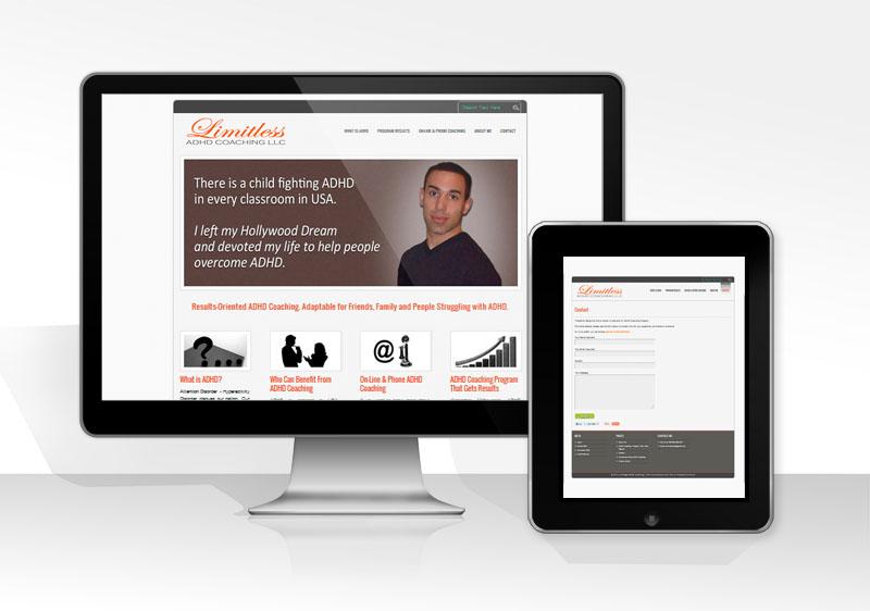 web design for a client