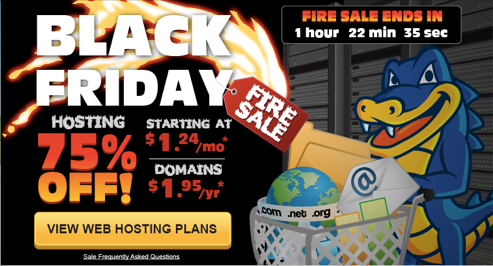 Hostgator Thanksgiving Fire Sale: Great Hosting Account At Bargain Prices