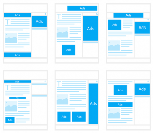 template redesign for a client