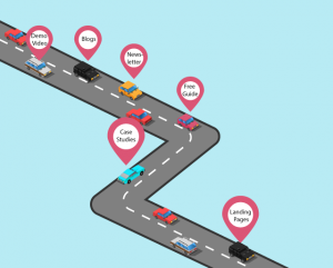 create effective content marketing strategy with customer journey map in mind