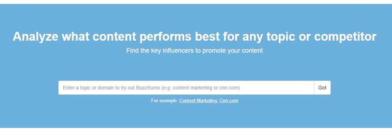buzzsumo social media automation tool