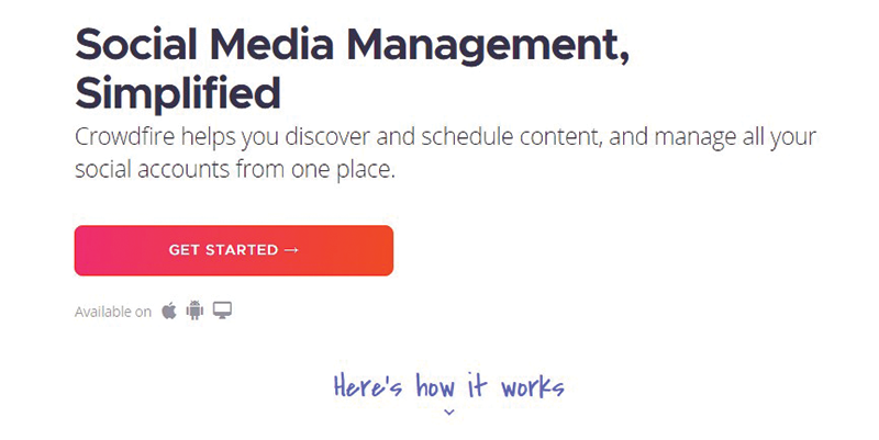 crowdfire social media automation tool