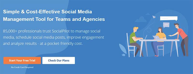 socialpilot social media automation tool