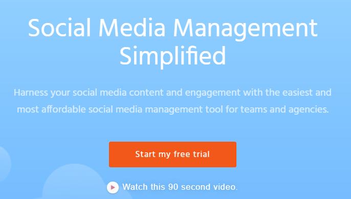 Agorapulse social media management tool