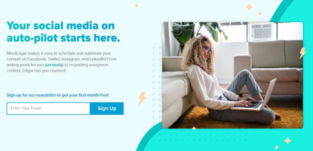MeetEdgar social media tool