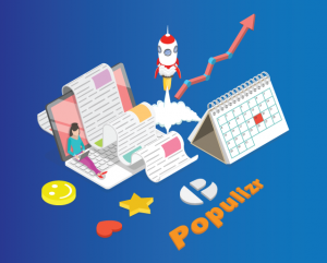 win the social media game with Populizr social media scheduling tool