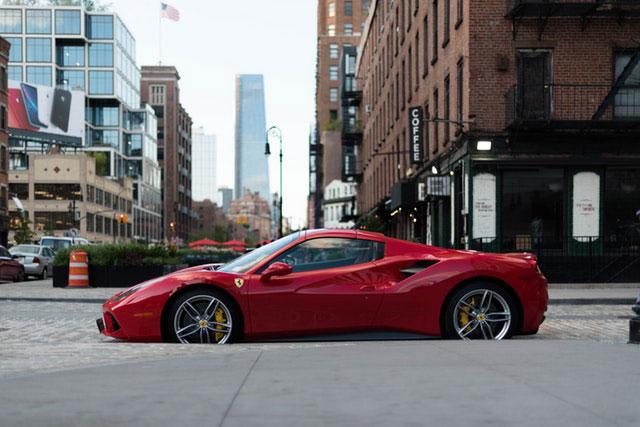 brand values of Ferrari company